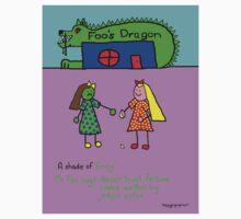 Foo's Dragon - 'A Shade of Envy' - Story Flash Fiction by  Solar Zorra by skippygirlgraphics