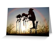 Under the Rainbow Greeting Card