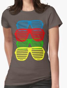 Shutter Shades Womens Fitted T-Shirt