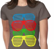 Shutter Shades Womens Fitted T-Shirt