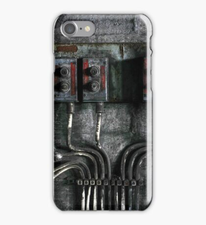 1.5.2015: Switches and Broken Wires iPhone Case/Skin