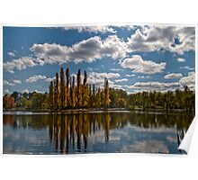 Lake Burley Griffin 1 Poster