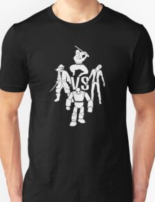 pirates vs ninjas vs zombies vs robots T-Shirt