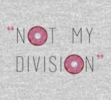 """""""Not my division."""" - G. Lestrade  One Piece - Long Sleeve"""