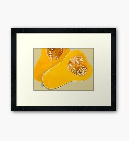 Butternut Framed Print