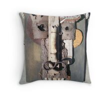 why the long face? Throw Pillow