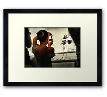 Recital Framed Print