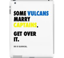 Star Trek - Some Vulcans Marry Captains iPad Case/Skin