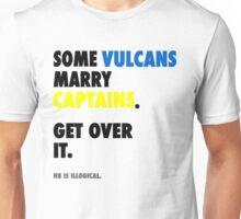 Star Trek - Some Vulcans Marry Captains Unisex T-Shirt