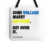 Star Trek - Some Vulcans Marry Captains Tote Bag