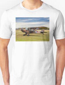 Piper L-21A Super Cub R-213 PH-RED Unisex T-Shirt