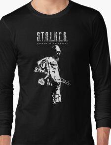 Stalker SOC White Long Sleeve T-Shirt