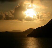 Sunset in Connemara by irishrain
