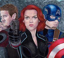 Avengers by Matt  Simas
