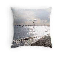 southend seafront Throw Pillow