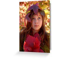Autumn spirit. Greeting Card