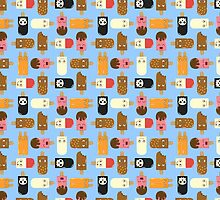 Ice Cream Challenge Character pattern by Onno Knuvers