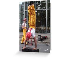 Circus Firemen 2 Greeting Card