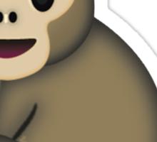 Sitting Monkey Emoji Sticker