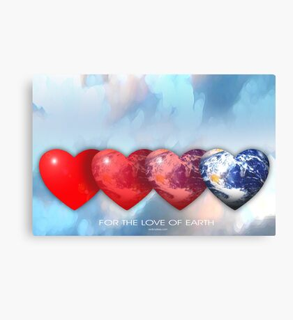 love of earth Canvas Print