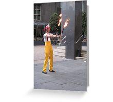 Circus Firemen 4 Greeting Card