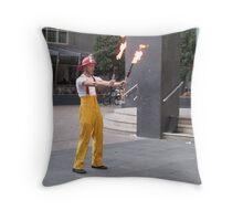 Circus Firemen 4 Throw Pillow
