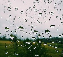 Raindrops by karlmagee
