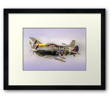 How Close ?? - HDR - Dunsfold 2014 Framed Print