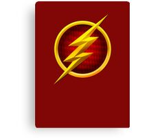 Flash Logo Canvas Print