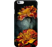 Abstract Marigold iPhone Case/Skin