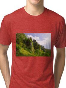 Tissington Spires  Tri-blend T-Shirt