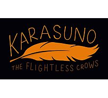 Karasuno - The Flightless Crows Photographic Print