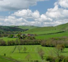 Across the Valley, Thorpe to Ilam  Sticker