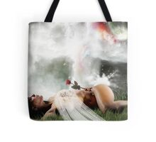 At  worlds end.(dont you cry tonight ) Tote Bag