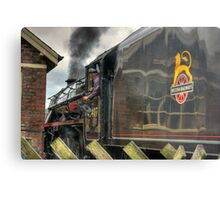 Passing the Signal Box Metal Print