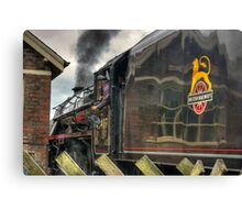 Passing the Signal Box Canvas Print