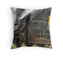 Passing the Signal Box Throw Pillow