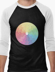 Kaleidos Men's Baseball ¾ T-Shirt