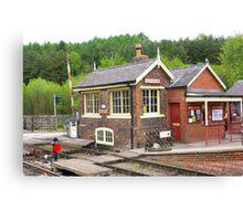 The Signal Box - Levisham Station Canvas Print