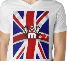 U.K. Mods  015.PNG Mens V-Neck T-Shirt