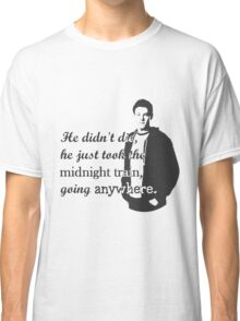 """Cory Monteith """"He didn't die"""" Classic T-Shirt"""