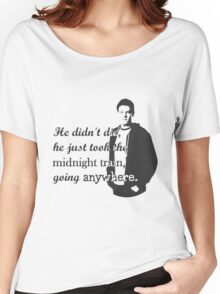 "Cory Monteith ""He didn't die"" Women's Relaxed Fit T-Shirt"