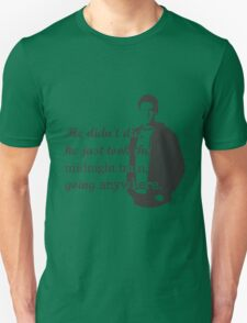 """Cory Monteith """"He didn't die"""" T-Shirt"""