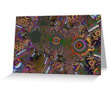 passages, ruban fractal Greeting Card