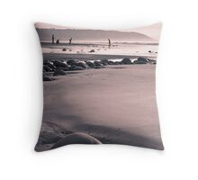 Family day out Throw Pillow