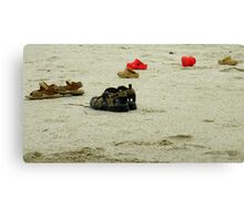 No Shoes Required Canvas Print