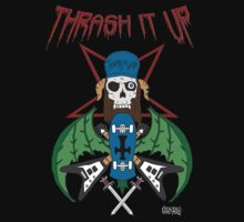 Thrash Skull and Skate by EvilutionE5150