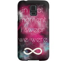 i swear, we were infinite Samsung Galaxy Case/Skin