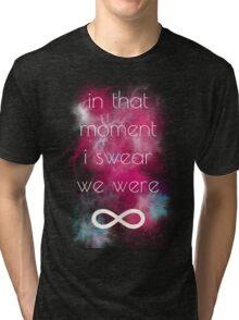 i swear, we were infinite Tri-blend T-Shirt