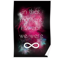 i swear, we were infinite Poster